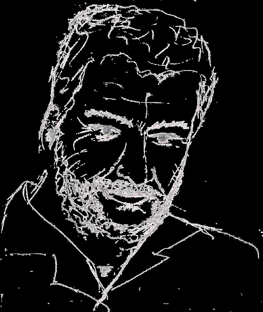 B.A.D. Portraitzeichnung